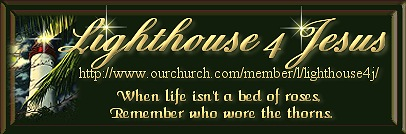 Lighthouse 4 Jesus Banner