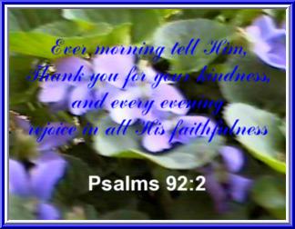 Psalms 92:2